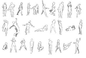 gesture drawing by nhe1