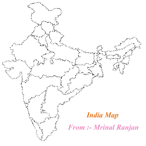 Map Of India Made On Flash. By Marts7 On DeviantArt