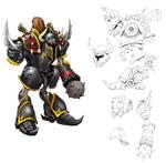 Battle Gear Concept Art II