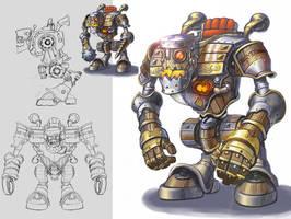 Battle Gear Concept Art III by D-faulTx