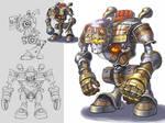 Battle Gear Concept Art III