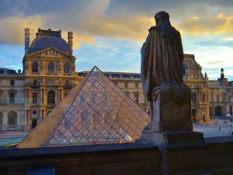 Louvre - Pyramide 3