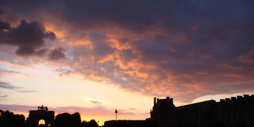Louvre - Sunset 1