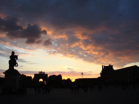 Louvre - Sunset 2