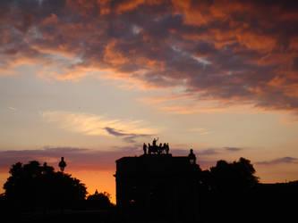 Louvre - Sunset 3