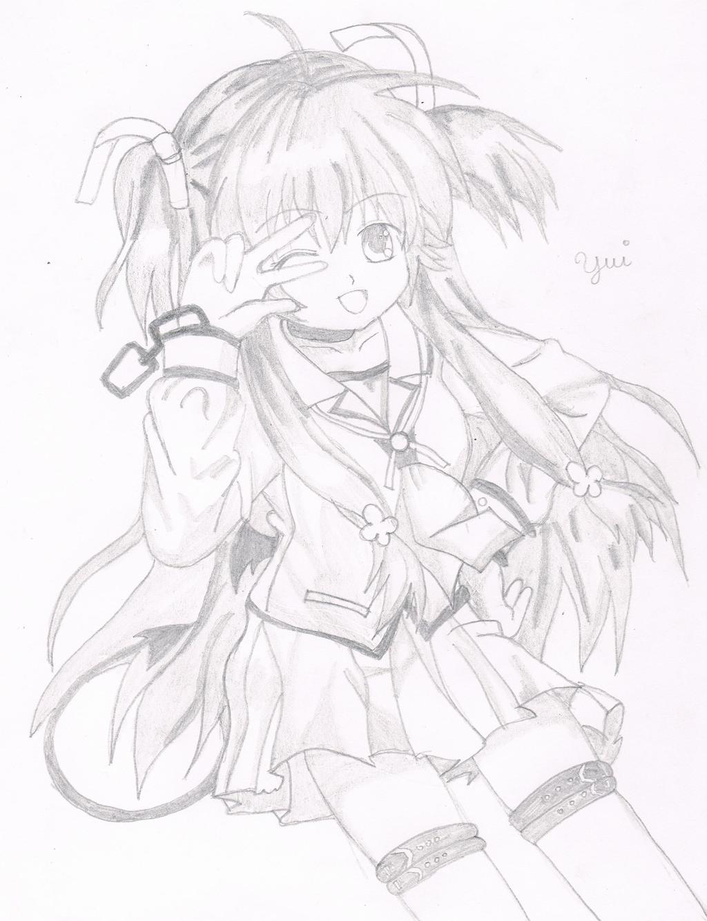 Yui From Angel Beats by zidane2993 on DeviantArt