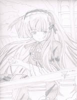 Victorique from gosick by zidane2993