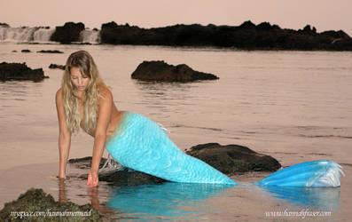 Hannah at Sharks Cove, Hawaii
