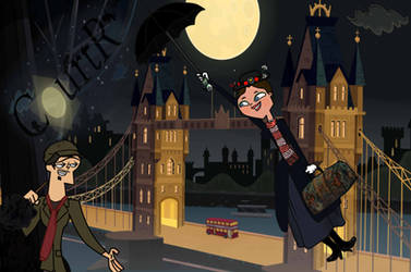 Mary Poppins - Total Drama by CourtR