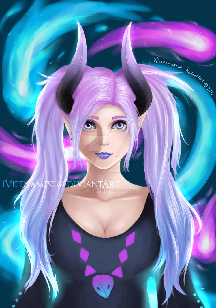 Alexida's Dragon OC by iVietnamese