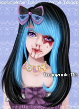 Toxic Doll (ToxicPunkette's OC) by iVietnamese
