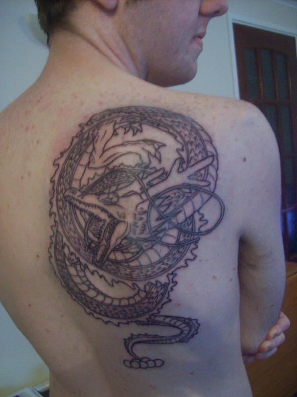 Shenron tattoo by jackojock