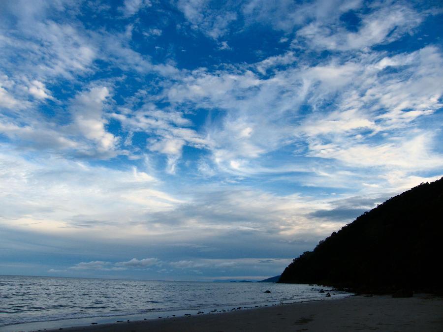 Cape Tribulation and Beach South Sky by tablelander