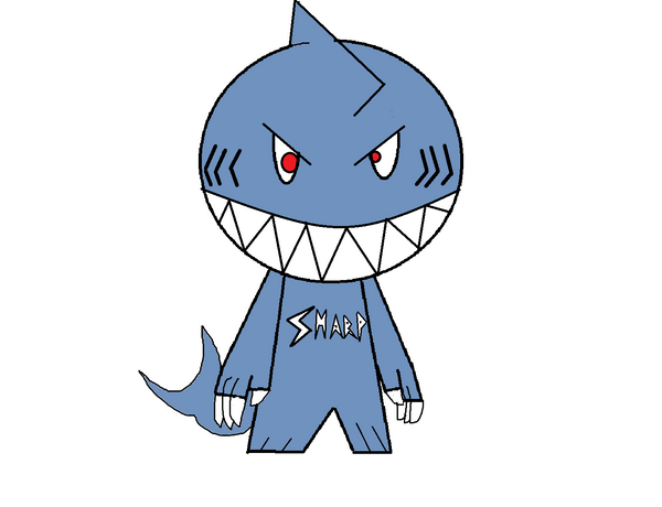 shark teeth template - dommy template 3 sharktooth by masterofgaburincho on