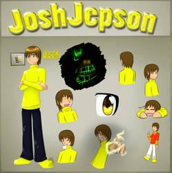 JoshJepson Reference Sheet by OmegaSam7890