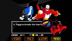 Papyrus Breaks the 4th Wall