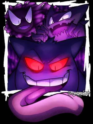 Pokemon: Menacing Ghosts by OmegaSam7890