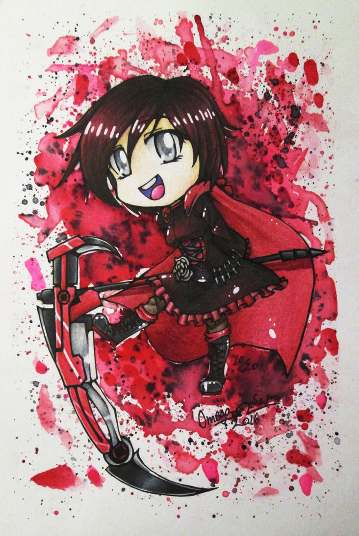 Chibi: Ruby Rose by OmegaSam7890