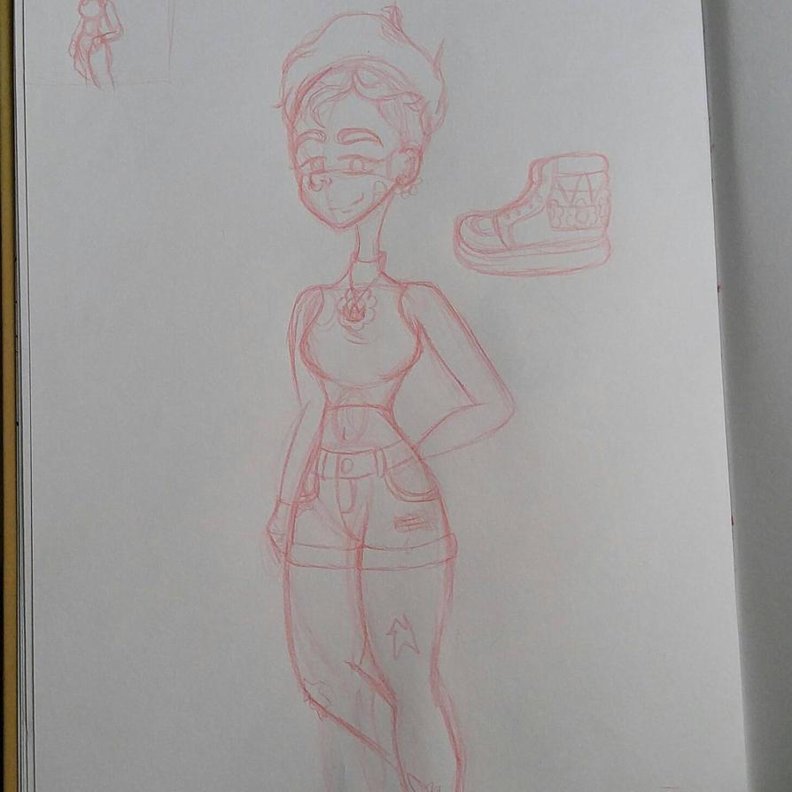 sketch #1 by GenocideJackie