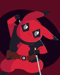 PIkachu Deadpool