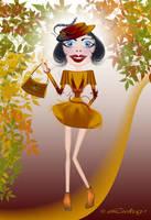 Little Miss Autumn by Lukay7