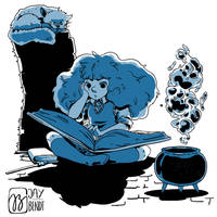 Sketch - Hermione by Jay-Bendt