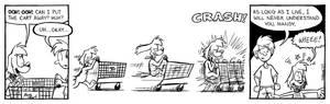 Mandy comic: shopping cart