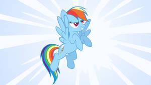 Rainbow Dash wallpaper by stevethepocket