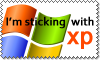 I'm sticking with XP by stevethepocket