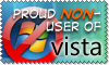 Proud non-user of Vista by stevethepocket