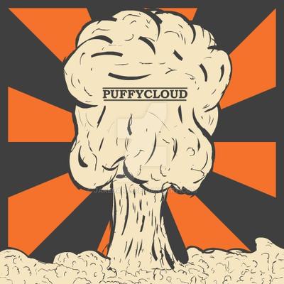 PuffyCloud Logo 1st Version