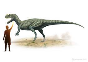 Ceratosaurus by paleopeter