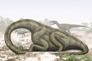 Brachiosaurus: all things must pass. by paleopeter