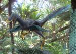 Deinonychus (Leaping)