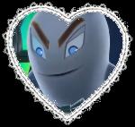 Specter Heart Stamp by bumblebeegirl15