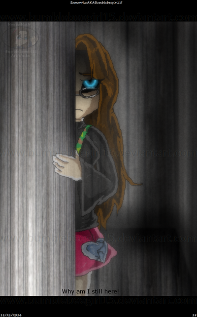 I Don't Want To Be Here Anymore! (Screenshot) by bumblebeegirl15