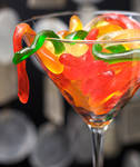 Gummy Worm Martini