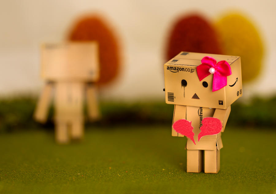 Danbo's First Heart Break by BryPhotography