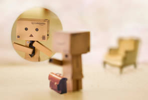 Danbo's First Job by BryPhotography