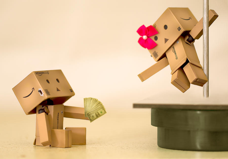 Danbo's First Strip Club by BryPhotography