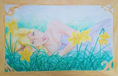 Greet the Spring Daffodil