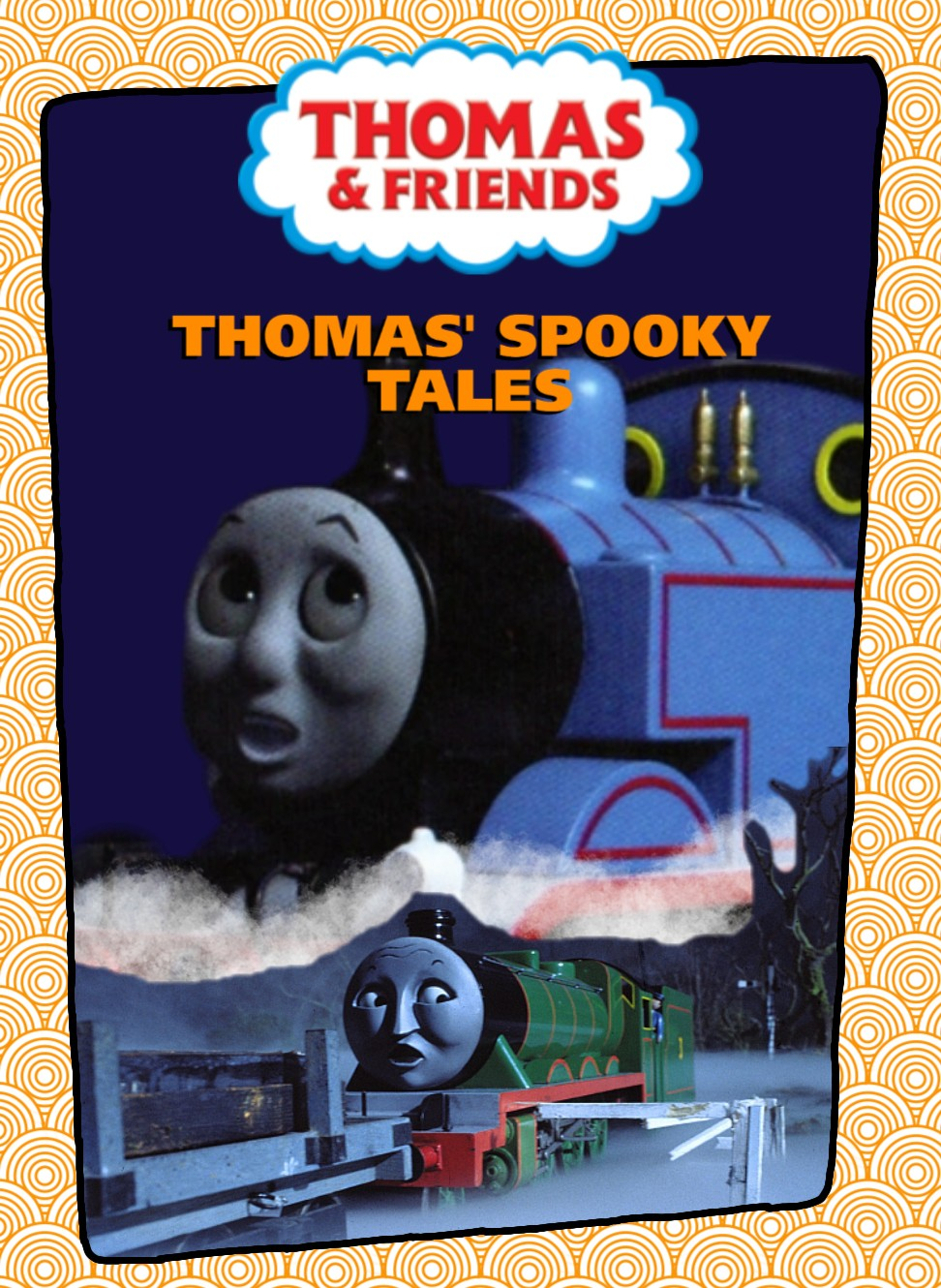 Thomas And Friends Thomas Halloween Adventures Dvd 2020 Thomas' Spooky Tales DVD by TestingTeen on DeviantArt
