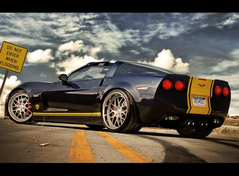 Chevy Corvette zr1 targa
