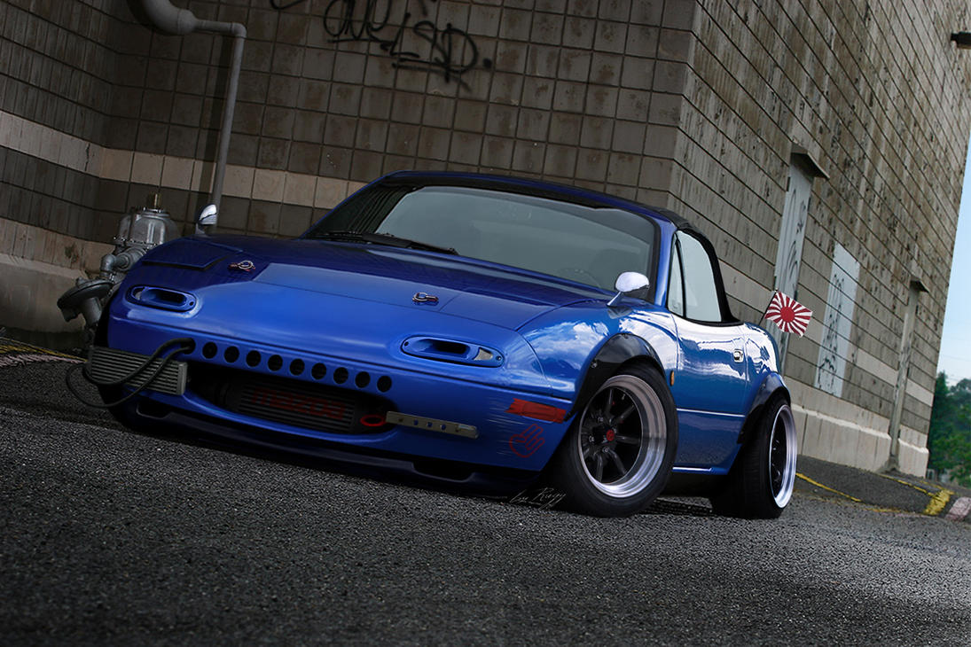 Miata Mx5 Old School by Rugy2000