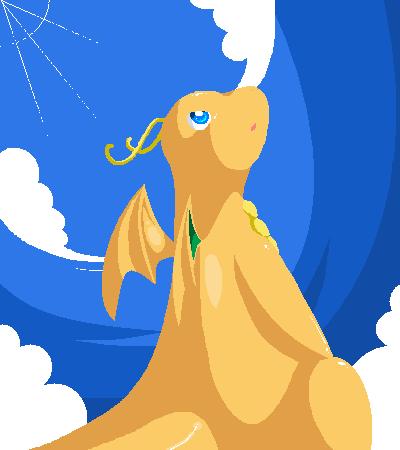 Dragonite by Jiayi