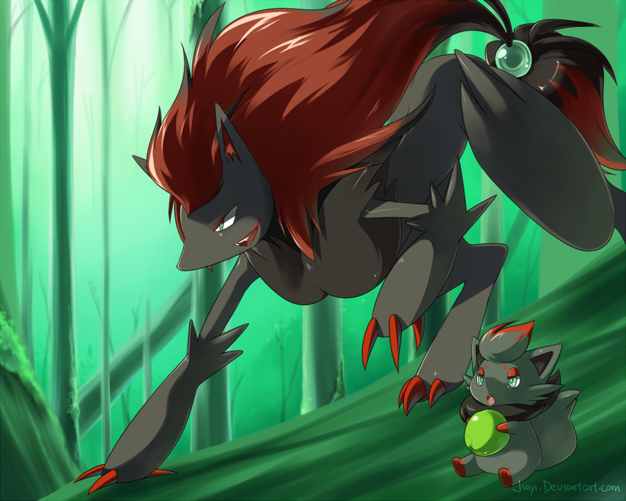 Zorua by Chico-2013 on DeviantArt