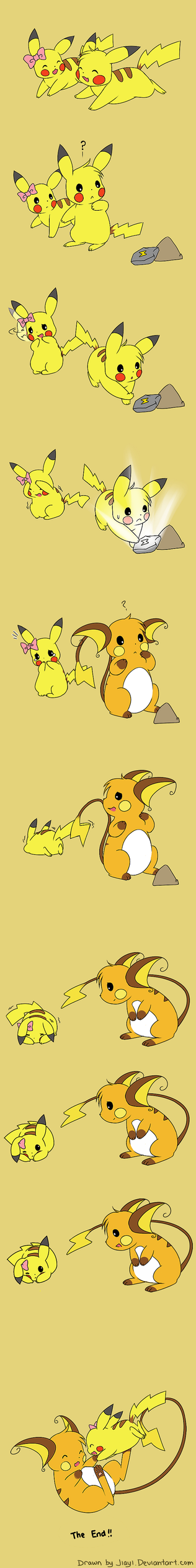 A tale of 2 Pikachus by Jiayi