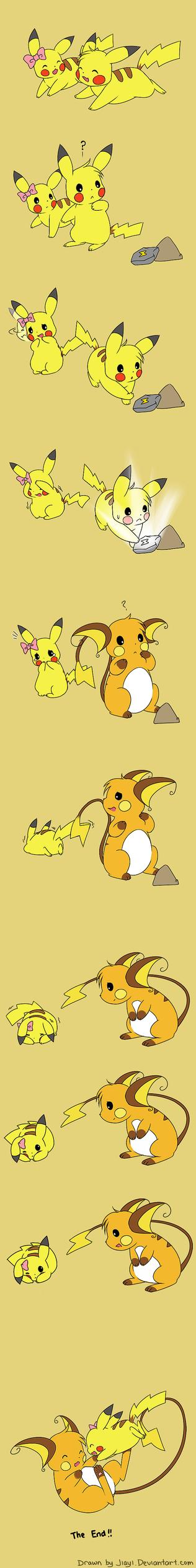 A tale of 2 Pikachus by Jiayi