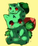Bulbasaur and Ivysaur