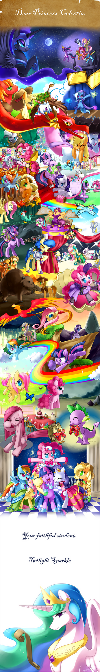 Friendship is Magic (Print available now) by Jiayi